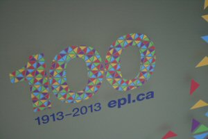 Edmonton Public Library is celebrating their 100th anniversary