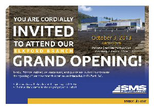 The new 50,000 square foot building was custom built to suit the needs of the heavy equipment mining industry in the region.