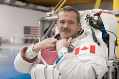 Chris Hadfield, Former Commander of the International Space Station, Astronaut