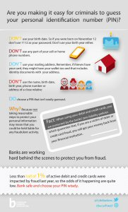 Are you choosing the right PIN and password?