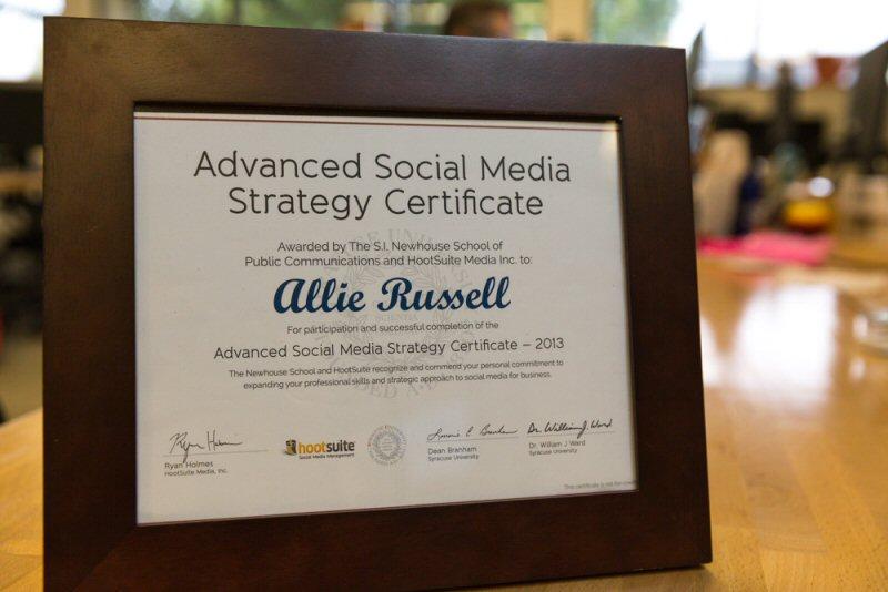University library social media strategy
