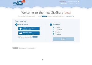 With a ZipShare beta account, easily encrypt and share files. Take advantage of a single app to manage your cloud storage accounts.