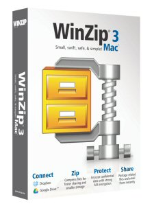 WinZip Mac 3 makes zipping, encrypting and file sharing easier than ever