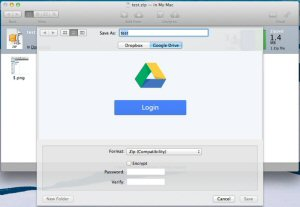 WinZip Mac 3 offers direct integration with Google Drive and Dropbox to simplify cloud sharing and privacy protection