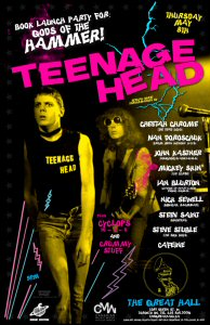 Teenage Head will bring their electric stage presence to Canadian Music Week