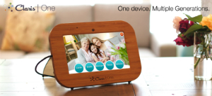 Claris One(TM) is an affordable solution for busy adults wanting to provide the conveniences of online communication to their older parents without having to worry about unfamiliar technology.