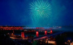 Lumenpulse luminaires have helped bring light to Edmonton's High Level Bridge, illuminating the 102-year-old bridge for the first time.