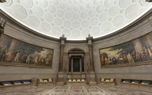 Lighting designers Available Light used Lumenpulse luminaires to enhance the visitor experience and meet strict conservation requirements at the US National Archives.