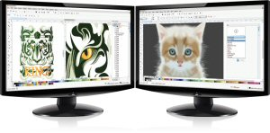 CorelDRAW Home & Student Suite X7 Dual Monitors