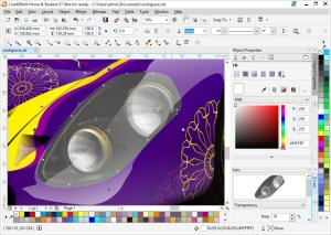 CorelDRAW Home & Student Suite X7 Workspaces