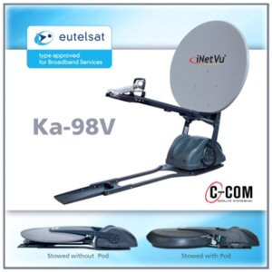 C-COM Mobile Antenna Receives Eutelsat Type Aproval For NewsSpotter Newsgathering Service
