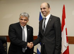 The Honourable Steven Blaney, Minister of Public Safety and Emergency Preparedness, and Yair Lapid, Minister of Finance of the State of Israel, signed a Declaration of Intent to begin negotiations on a Mutual Recognition Arrangement on September 15, in Tel Aviv, Israel.