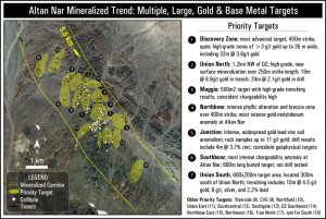Altan Nar Mineralized Trend