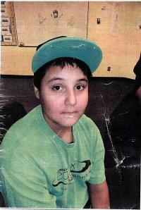 Missing: Braden Strawberry. Age: 13