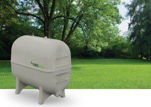 Granby Industries' new line of FIBRESTOR(TM) residential fibreglass tanks.