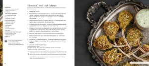 ATCO Blue Flame Kitchen recipe for Edamame-Crusted Lamb Lollipops