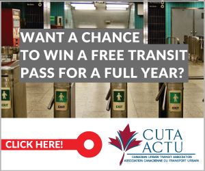 Want a Chance to Win a Free Transit Pass for a Full Year ? Go to www.lets-move.ca/action