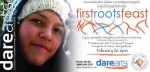 DAREarts First Roots Feast Invite