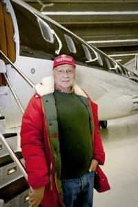 Bombardier livre un avion Global 6000 au champion de Formule 1 Niki Lauda