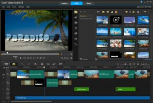 Featuring an updated UI and new smart features, VideoStudio Pro X8 makes it easier than ever to create amazing movies.
