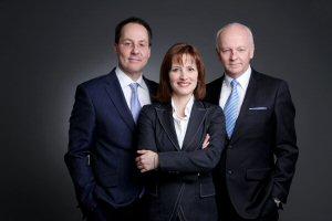 Daniel Cousineau, Julie Bergevin, Gaetan Migneault