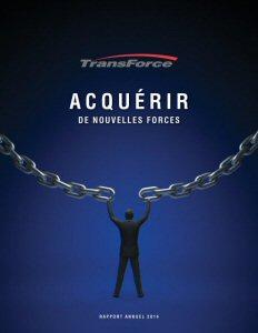 Rapport annuel 2014 de TransForce (Marketwired Photo - TransForce Inc.)