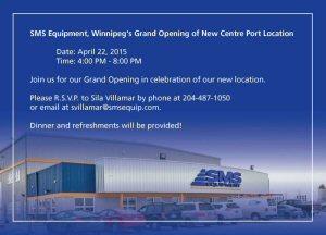 Winnipeg Branch Grand Opening, April 22nd 2015