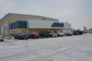 Front entrance to the SMS Equipment Winnipeg Branch