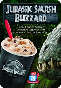 Dairy Queen's Jurassic Smash Blizzard® Treat.