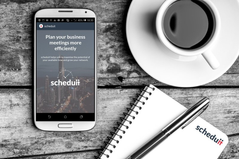 High-Tech Business Networking App 'Scheduit' Launched on App Store