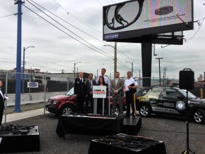 Canada's Out-of-Home leader teams with Crime Stoppers and Lower Mainland police to help promote the Cash for GUNS CAMPAIGN.
