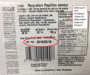 Roquefort saveur, Papillon, 100 g