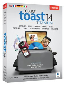 The ultimate digital media suite for your Mac, Roxio Toast 14 makes it makes it simple to copy, convert and share photos, videos and music on mobile devices, online, DVDs and more.