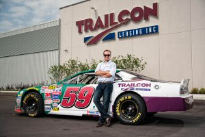 Trailcon Leasing supports NASCAR Canadian Tire Series driver Gary Klutt as he makes a run for the 2015 championship in car 59.