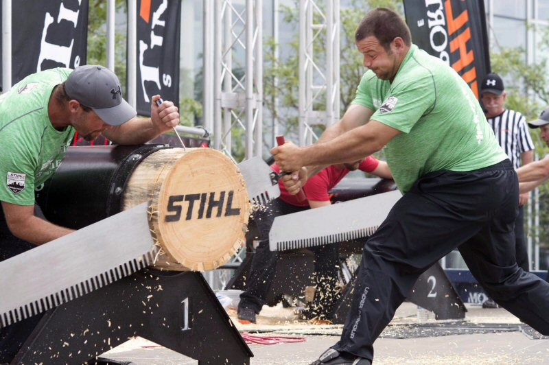 Marcel Dupuis Wins the STIHL Timbersports Canadian Championship