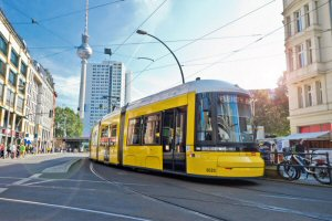 Bombardier Hands Over 100th FLEXITY Tram to the Berlin Transport Authority (BVG)