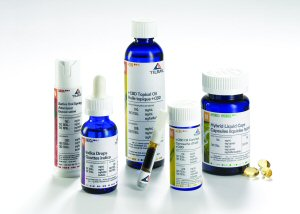 Gamme d'huiles et d'extraits de cannabis médical de Tilray