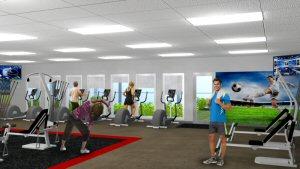 Site C Lodge - Fitness Facility