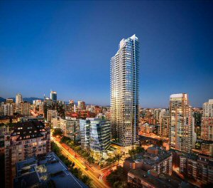 Burrard Place will be the tallest all-residential building in Western Canada.