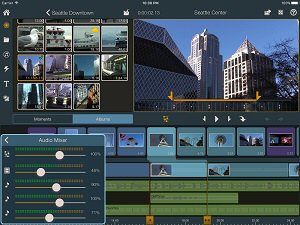 New Pinnacle Studio Pro for iOS adds real-time audio level mixing, 2K and 4K output support, dual view trimming, cloud sharing and more.