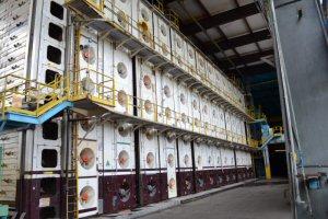 Pulp Machine Dryer Section.
