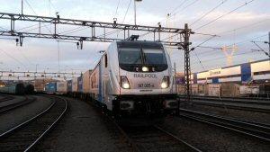 TRAXX Last Mile Lokomotive auf Testfahrt in Olso, Norway.  Morten Rasmussen/Bombardier