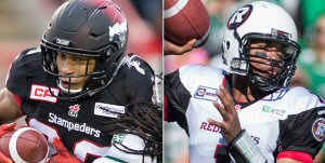 Both Eric Rogers and Henry Burris were named 2015 Canadian Football League All-Stars today. The 27 All-Stars were selected by the Football Reporters of Canada (FRC) and the league's head coaches.