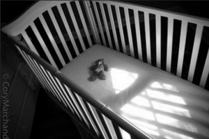 Empty Crib - (Photo by Cory Marchand)