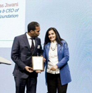 Nuradin Osman MD of AGCO Corp and Almas Jiwani