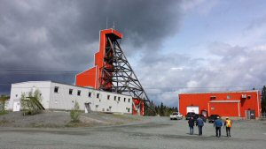 Infrastructure de la mine Francoeur
