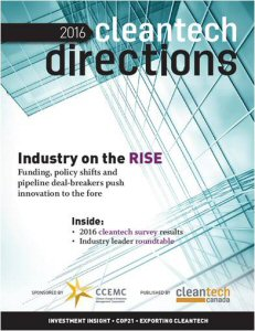 Cleantech Directions report highlights innovation hurdles and success strategies