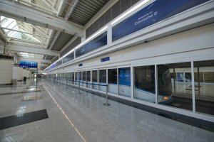 The world's first BOMBARDIER INNOVIA APM 300 completes first month of passenger service at Dubai International in the United Arab Emirates