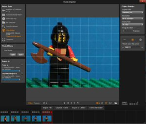 Free to Pinnacle Studio 19 registered customers, the 19.5 update adds all-new Stop Motion Animation features.