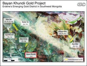 Bayan Khundii Gold Project